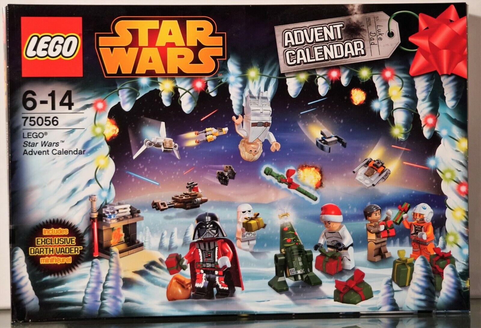 Lego Estrella Wars Calendario Adviento Ovp   75056