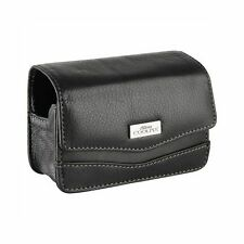 Borsa Custodia Nikon CS-P04 Originale in Pelle Nera x Coolpix P6000 (S)