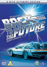 Back To The Future Trilogy (DVD, 2008, 4-Disc Set ,ultimate edtion, steel case)