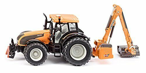 1 32 Valtra With Kuhn Embankment Mower - Die-Cast Vehicle - Siku 3659