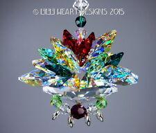 m/w Swarovski LARGEST CHRISTMAS LOTUS with Little Jewels Lilli Heart Designs