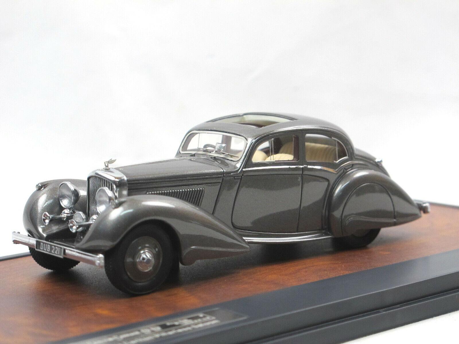 Matrix Scale Models 1937 Bentley 4.25 Litre Carlton Pillarless Saloon grau 1 43