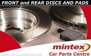 FOR-PEUGEOT-206-2-0-GTI-136Bhp-HDI-FRONT-REAR-BRAKE-PADS-SET-DISC-DISCS-MINTEX