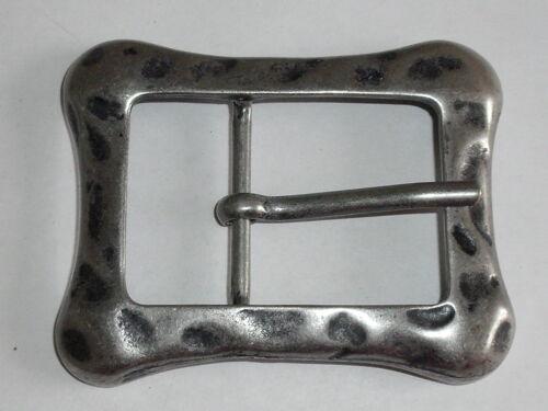 1 Stück Gürtelschnalle Schließe Schnalle 3,8 cm altsilber NEU rostfrei 0054.1