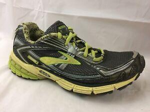 03ffea564b2cd Brooks Ravenna 3 Womens 7 Med Gray Silver Green Running Shoes ...