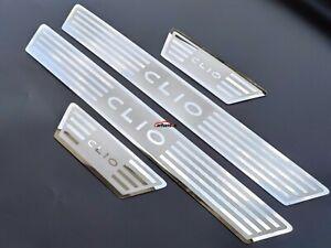 Pour-Renault-Clio-IV-4-Accessories-seuil-de-porte-plaque-Acier-Inoxydable-13-20