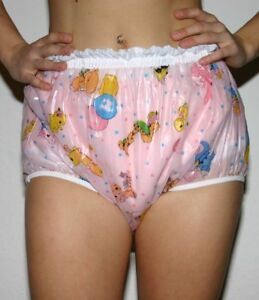 Adult lockable diaper