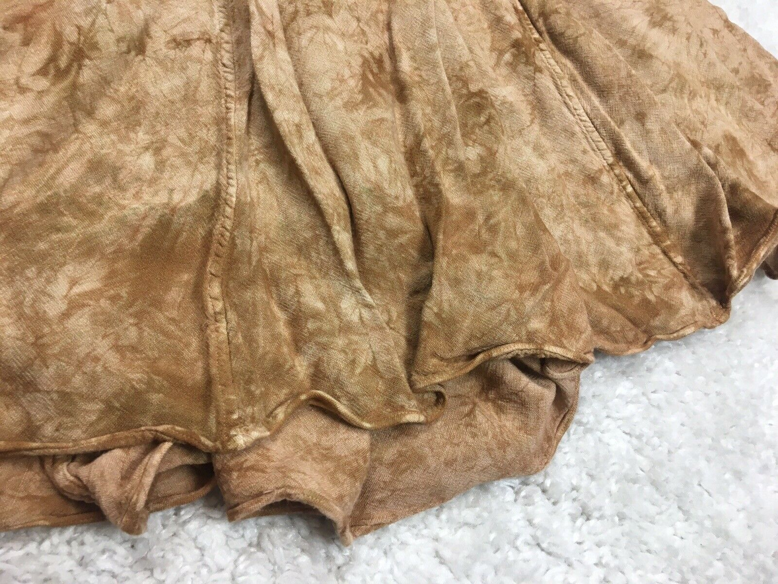 *READ One Size XS S M L Laise Adzer Brown Tie Dye… - image 6