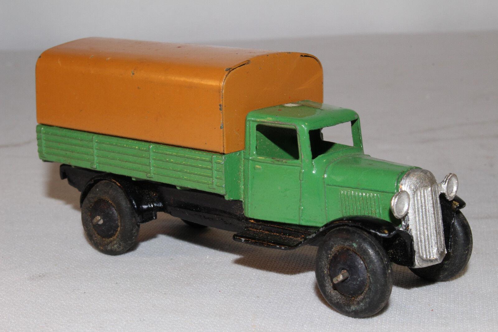 588ms Dinky 25b Cubierto Wagon Camión, Original