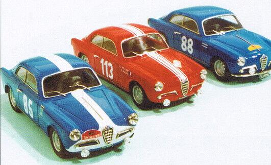 Alfa romeo giuletta sprint 1ère tdc.' 57-59-60 - 1 43 resin & w-met kit tron p128