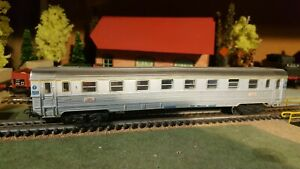 Marklin-echelle-ho-voiture-voyageurs-INOX-1er-class-SNCF-ref-4050