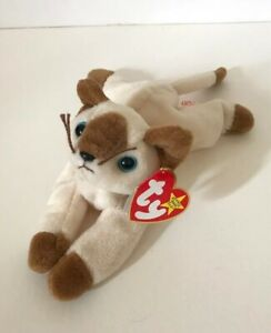 Ty Beanie Baby, Snip The Cat, 1996, New With Tag 4th Generation