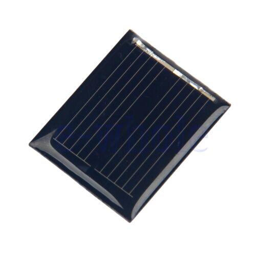 1.5 V Mini Panneau Solaire Module Pour Petits Système d/'alimentation Batterie Jouets 30x 25 mm HM