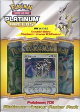 POKEMON PLATINUM ARCEUS POSTER PACK BOX BLOWOUT CARDS