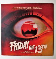 Friday The 13th Soundtrack LP On Murky Green & Red Splatter Vinyl w/Print