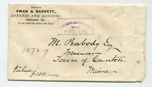 1870s-Portland-ME-Eastern-Express-boxed-stampless-marking-on-cover-4901