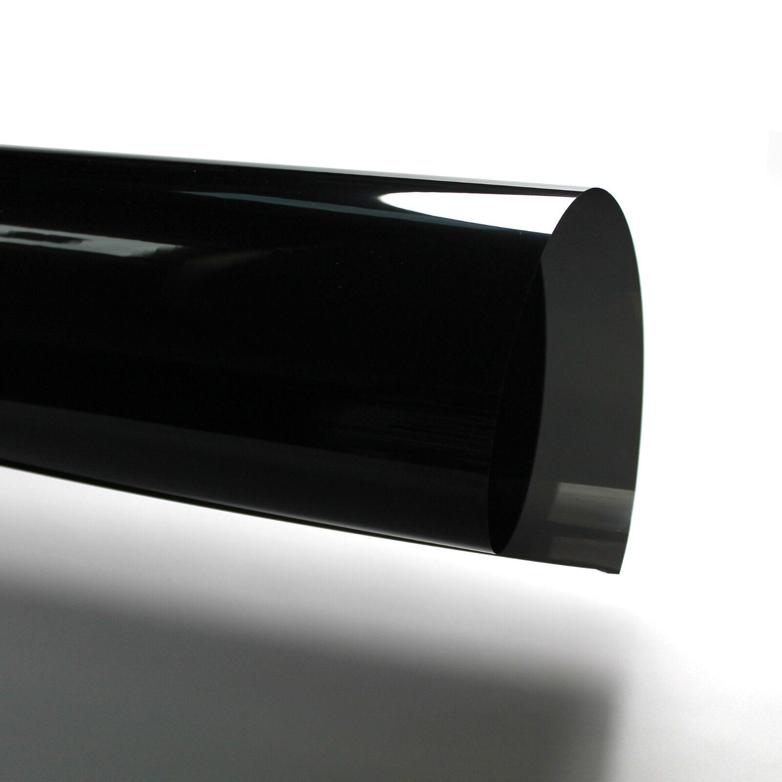 KFZ Tönungsfolie Sonnenschutzfolie Scheibenfolie 98% 65% schwarz mit ABG