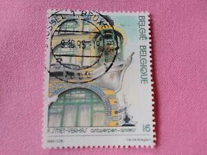 STAMPS-TIMBRE-POSTZEGELS-BELGIQUE-BELGIE-1995-NR-2605-ref-2086