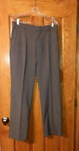 Banana-Republic-Men-039-s-Tailored-Fit-Gray-Dress-Pants-Size-32-32