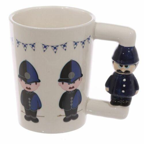 Boxed Novelty NEW Policeman Figure /& Motive Mug