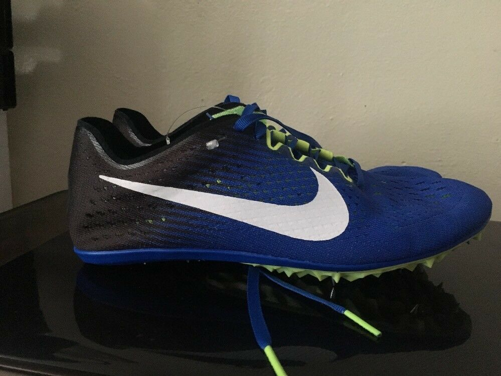 Nike Zoom Victory Elite 2 Mens Track shoes bluee Black Size 6.5 835998-413