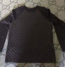 100% AUTHENTIC LOUIS VUITTON T-SHIRT DAMIER LONG SLEEVE SHIRT SIZE L