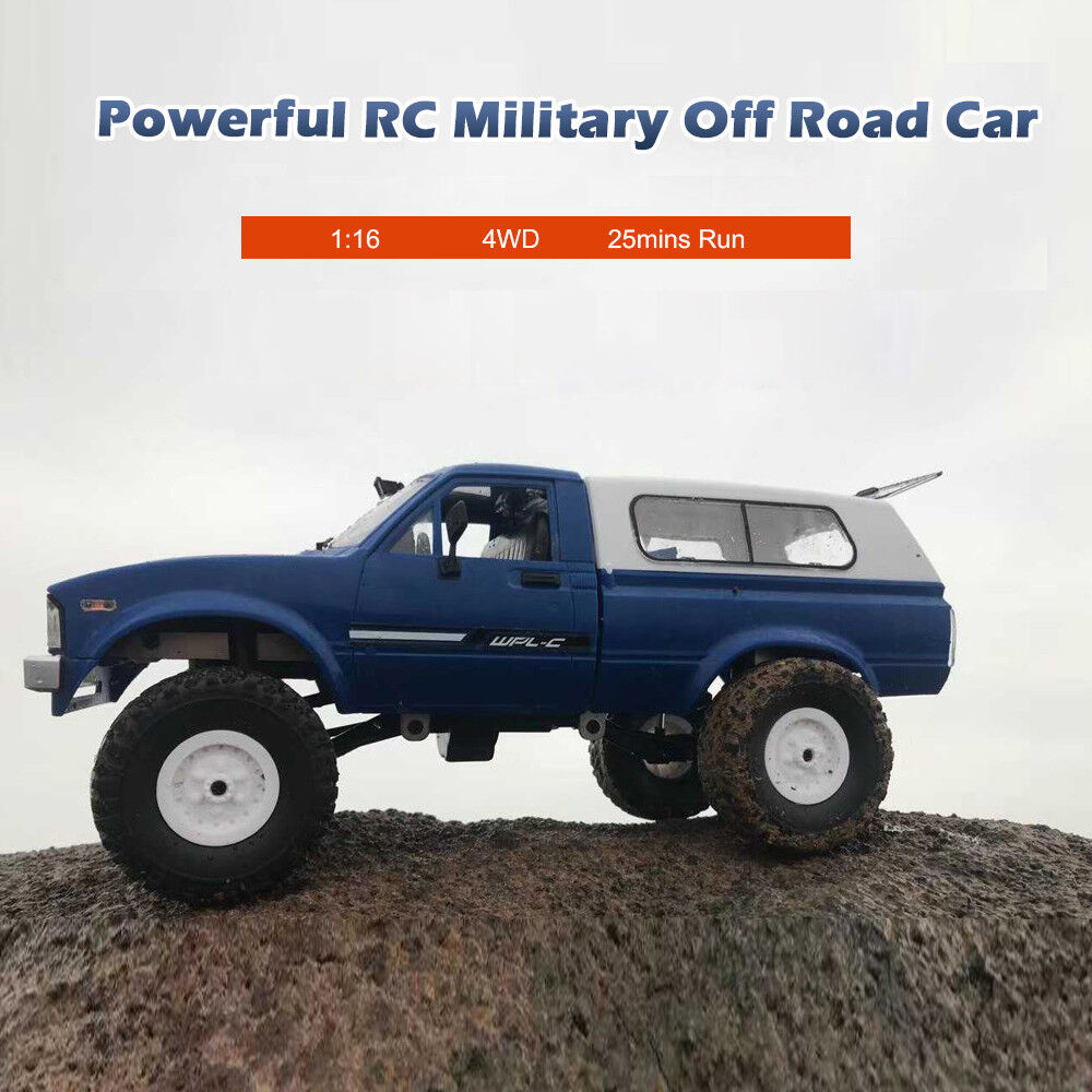 WPL WPL WPL C24 1 16 4WD Radio Remote Control Off road RC Car Racing Toy RTR Crawler a54663