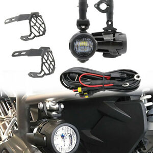 Pleasing Motorcycle Led Fog Light Protect Guards With Wiring Harness For Wiring Database Xlexigelartorg