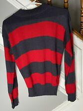a Nightmare on Elm Street Adult Freddy Krueger Sweater Size