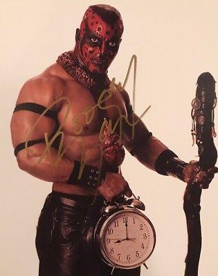 Boogeyman Autographed 8x10 Promo Photo signed wrestling wwe wwf