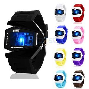 SKMEI-Mens-Womens-LED-Digital-Watch-Date-Alarm-Stopwatch-Waterproof-WristWatch