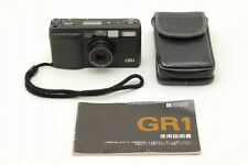 【Exc++++】 Ricoh GR-1 BLACK Date 35mm Point & Shoot Film Camera From Japan #1645