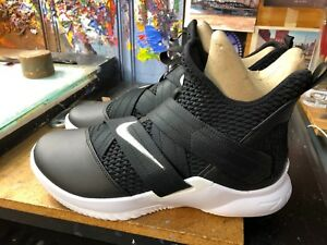 d43639f6d2d Nike LeBron Soldier XII TB Promo Black Metallic Silver Size US 11 ...