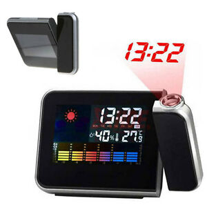 Digital-LCD-LED-Projector-Alarm-Clock-Weather-Station-Colorful-Projecting-Indoor