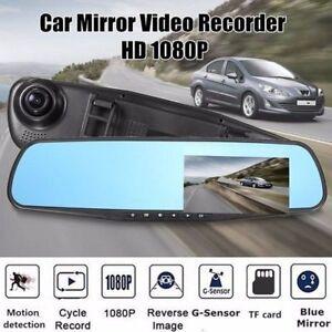 Auto DVR Rearview Rückspiegel 2,7'' Video Dashcam Recorder KFZ Kamera HD 1080P