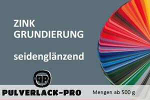 ZINK-GRUNDIERUNG-PULVERLACK-500g-Primer-Beschichtungspulver-Pulverbeschichtung