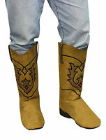Cowboy Boot Tops Costume Accessory Country Western Adult Size