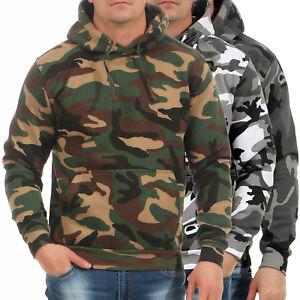 Game-Herren-Pullover-Camo-Camouflage-Hoodie-Kapuzenpulli-Tarnmuster