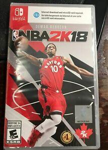 NBA-2K18-Nintendo-Switch-2017-SPECIAL-COVER-NEW-RARE-2K18