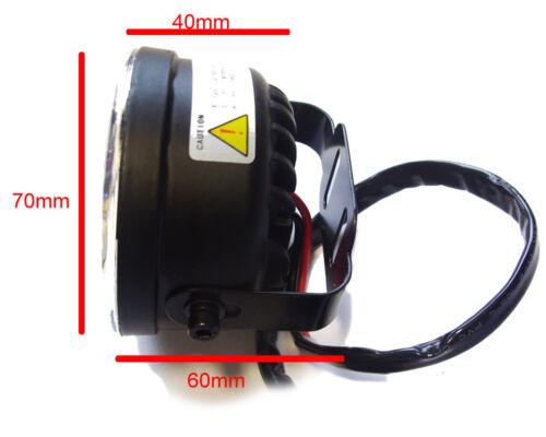 Round DRL 4 LED Daytime Running Lights Front Spot Fog Lamps For Landrover 2018