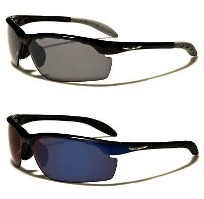 Sunglasses New Sport Designer Shades Wraps Xloop Men Women Black Green XL597E