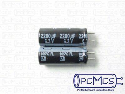 20 Pcs Sanyo WG 6.3V 1000UF Ultra Low ESR for VRM Computer Motherboard Capacitor