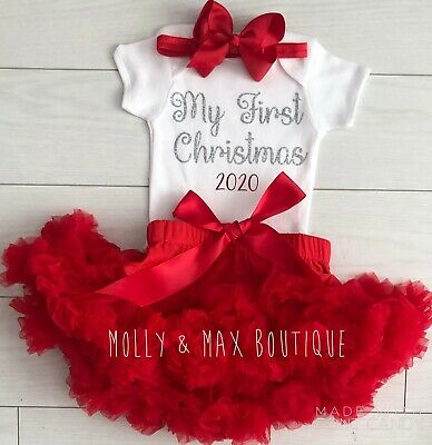 silver and white baby christmas my 1st christmas baby silver snowflake baby girl christmas outfit my first christmas baby girl outfit