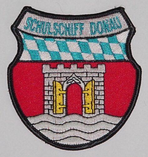 """Marine Bundeswehr Aufnäher Patch Schulschiff /""""Donau/"""" .........A4351"""