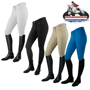 John Whitaker Miami Full Silicone Seat Ladies Breeches