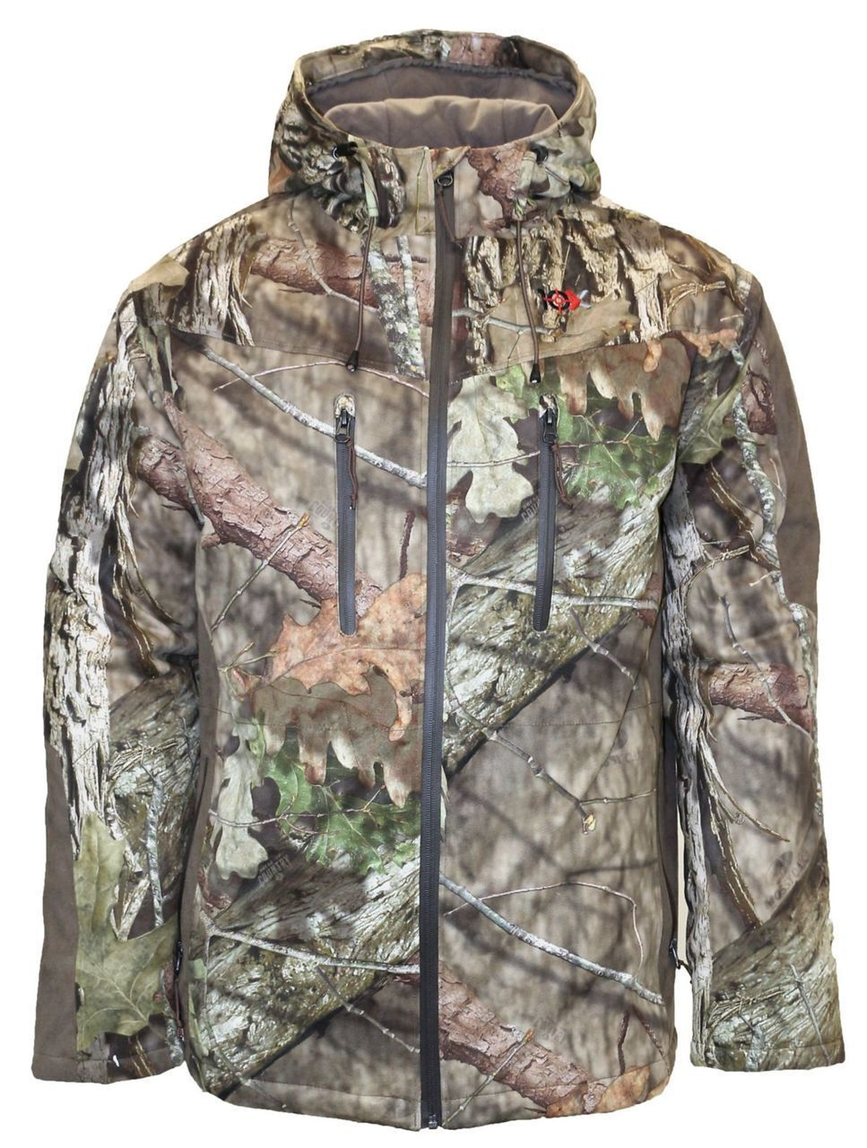 10X Men's Silent Quest Insulated Parka Scentrex Mossy Oak Breakup Country Medium