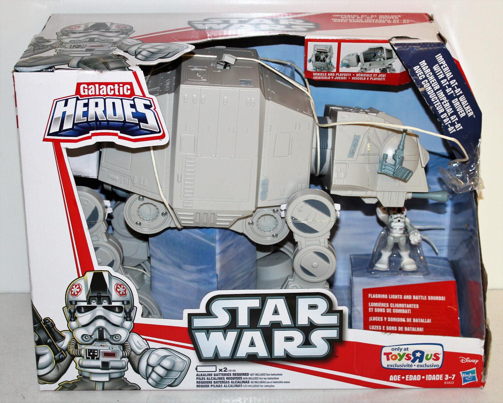 Star wars, galaktische h, exklusiven imperial at-at walker w   bild - boxen tragen
