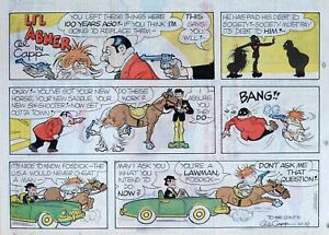 Li-039-l-Abner-by-Al-Capp-large-half-page-color-Sunday-comic-October-10-1976