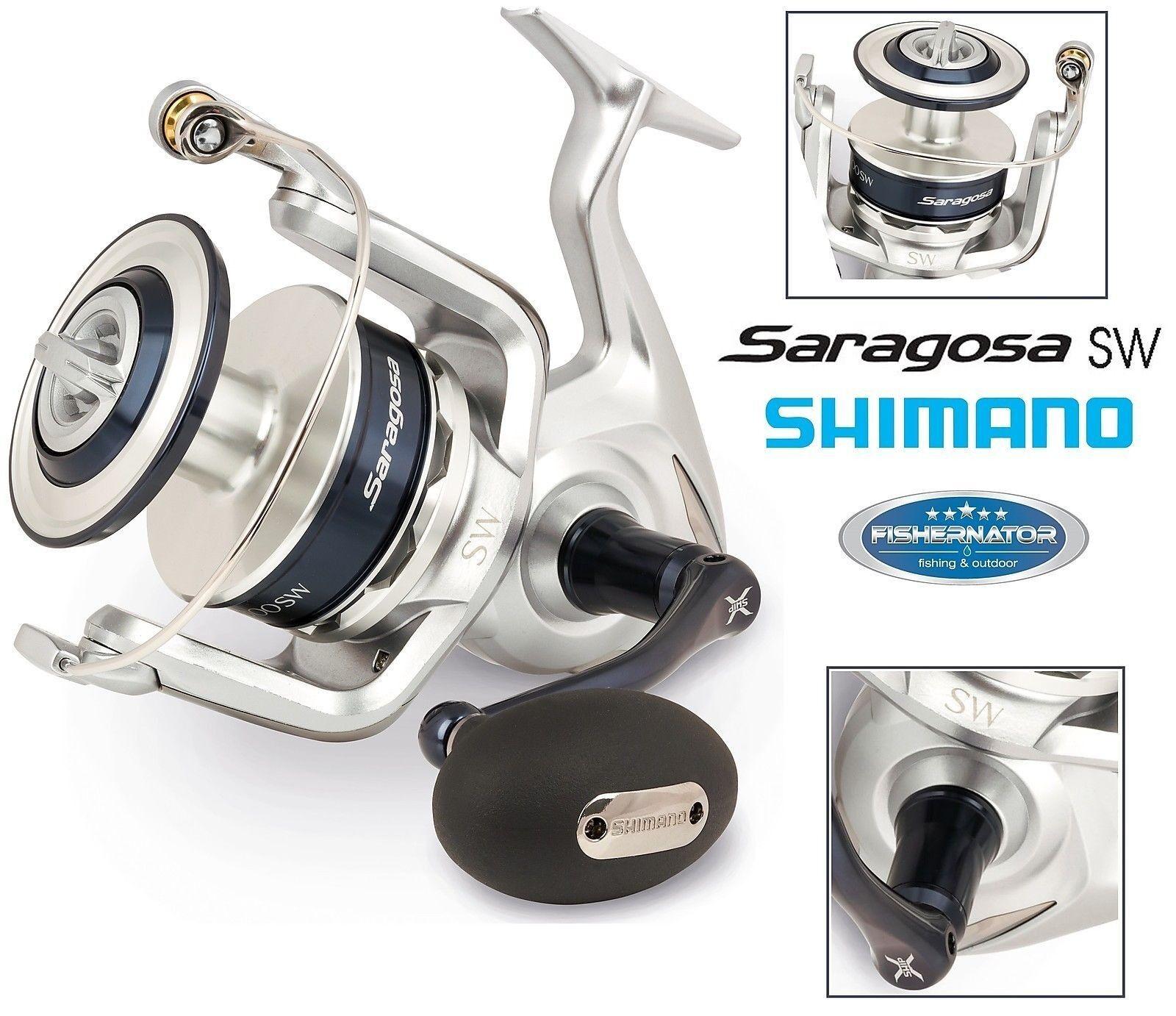 Shimano Saragosa 5000 SW Salzwasser Angelrolle, SRG5000SW