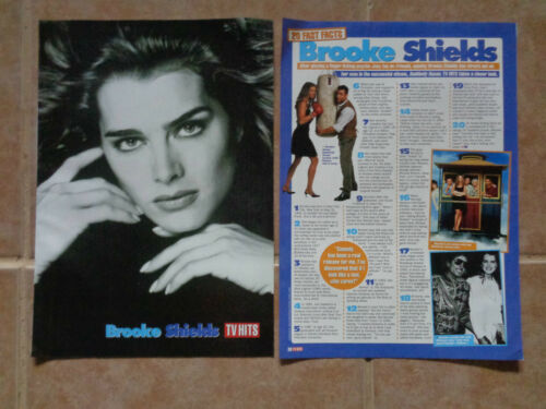 Brooke Shields_Suddenly Susan_MAGAZINE CLIPPINGS CUTTINGS_ships from AUS_E7